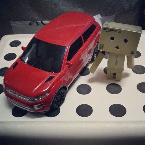Danboard Danboard_fan Revoltech Yotsuba red car danbo japan amazon picdaily igdaily picoftheday