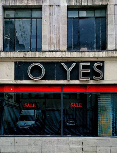 Old Foyles Sign and the definitive answer to the question 'would you like ice cream?' 25 Of 365