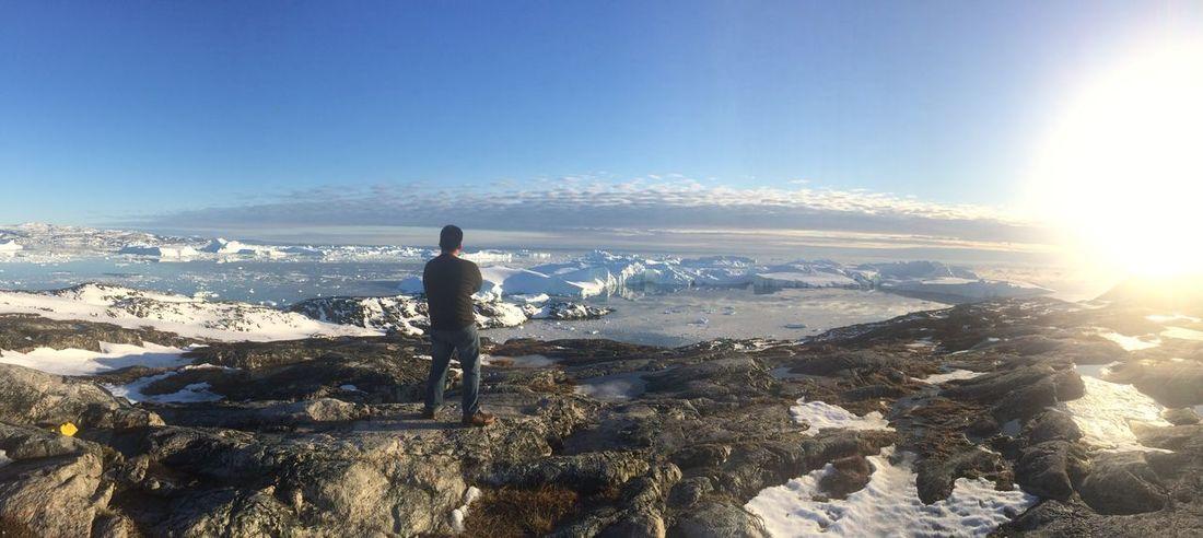 Icefjord Ilulissat Me Icebergs Mountains First Eyeem Photo