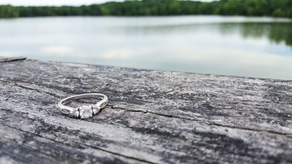 Water No People Outdoors Beach Day Nature Close-up Engagement Ring Excite  Love