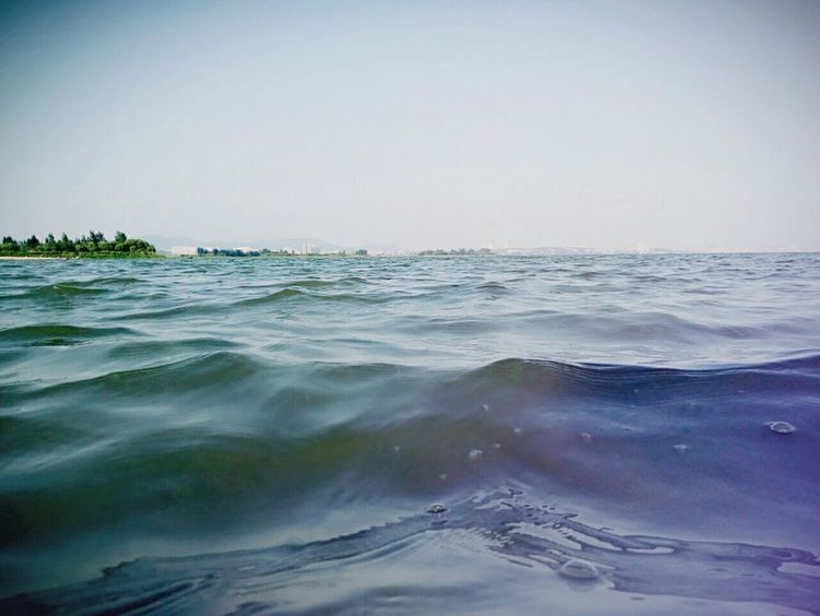 Lago 白龟山水库 Azul 河南 Agua