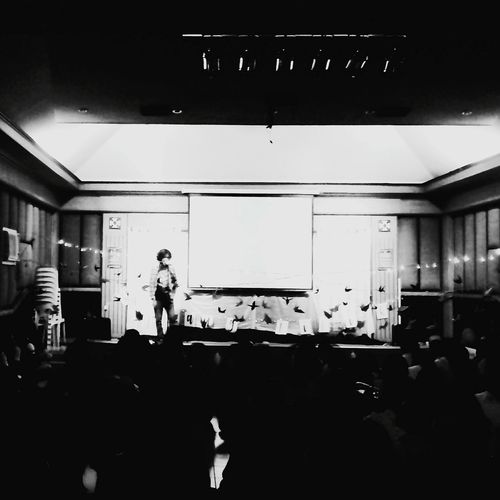 Kathang Titik with Tom Sarapat Philippine Arts Forum Eyeem Philippines Arts Culture And Entertainment People Poetry Spoken Word Artist
