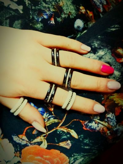 Rings♥ Ceramic Ring Gold Jewelry MissGold