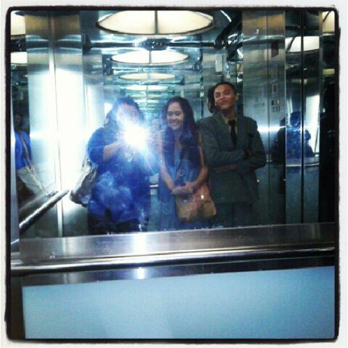 Iseng Photonlift Barengpaksatpam Unforgettingmoment ;) with @mariiamemen
