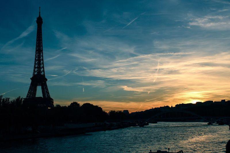 Paris sunset... Canon700D