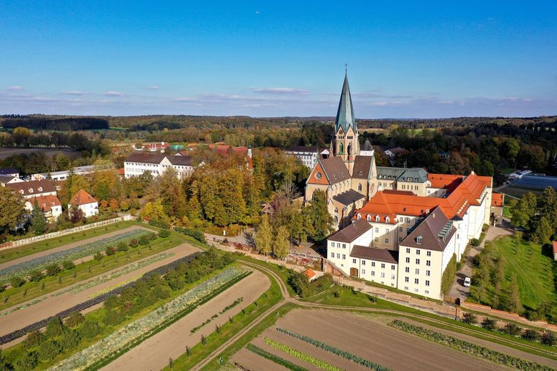 St Ottilien from above Architecture Built Structure Building Exterior Sky Nature Landscape Place Of Worship First Eyeem Photo