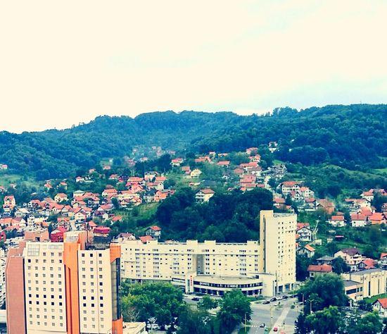 People And Places City Cityscape High Angle View Tuzla,Bosnia And Herzegovina Goranvonkarkin City Life Beautiful Nature