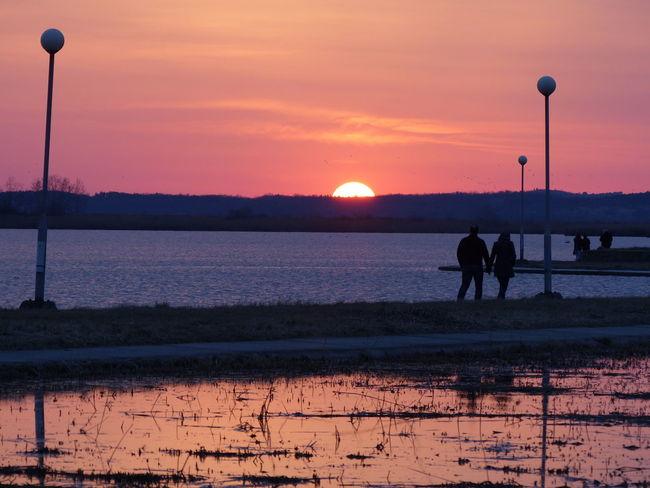 Nature Outdoors First Eyeem Photo Dusk Lake View Lake And Sunset