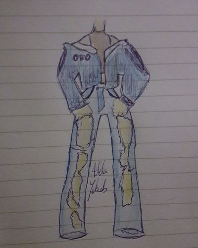 OVO OVO Drake  Toronto Outfit Fashion Drawing Human Body Part Sketch Close-up Day Outdoors People