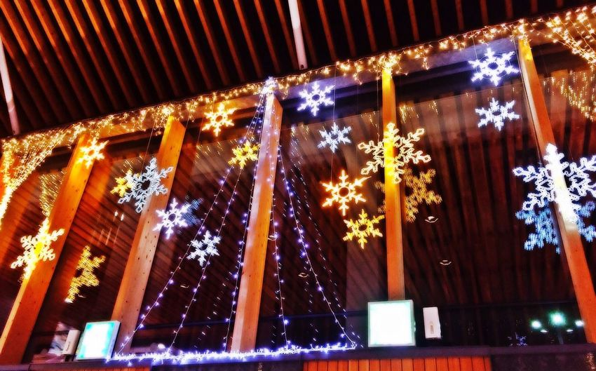 Kumamoto Airport From My Point Of View Christmas Lights Gate Night Lights