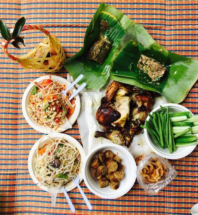 Food Food And Drink Meal Lunch Lunch Time! Somtam  Top View High Angle View Thai Food Thai Style