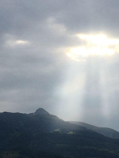 3rd June Saturday evening view from my balciny Beauty In Nature Sky Cloud - Sky Scenics Outdoors Sunlight Vaduz Summer Illuminated The Great Outdoors - 2017 EyeEm Awards The Great Outdoors - 2017 EyeEm Awards