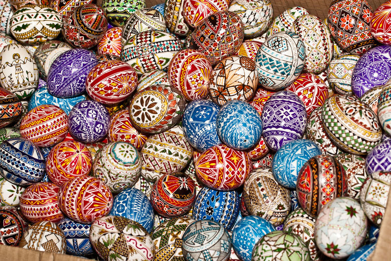 Easter Egg Easter Egg Hunt Easter Eggs Easter Eggs On Display Art And Craft Arts Culture And Entertainment Backgrounds Business Finance And Industry Close-up Collection Day For Sale Industry Large Group Of Objects Market Multi Colored No People Outdoors Retail  Variation