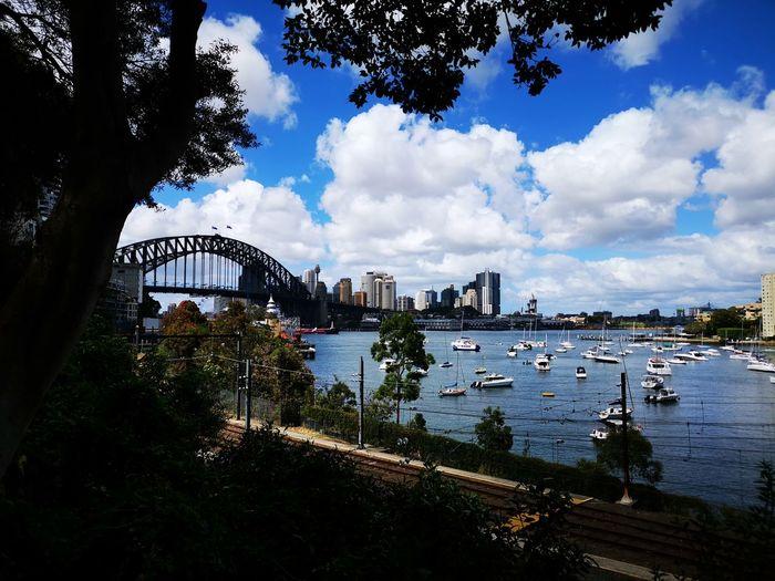 Sydney, Australia Sydney Australia City Water Nautical Vessel Tree Sky Architecture Building Exterior Built Structure Cloud - Sky