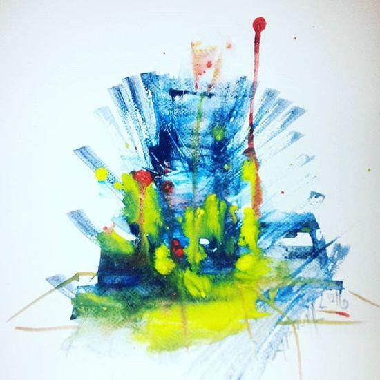 Dream Colordream Landscape Paintinglandscape Feelings Lovefeeling Instalike Instapaint Arminpaulpainting Berlinart Psyart Psywatercolor Arminpaulwatercolor