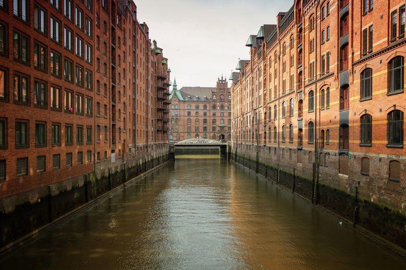 Hamburg hafen city | Canon EOS 760D Dock Hamburg Harbor Architecture Built Structure Building Exterior Water Building Sky Nature Reflection