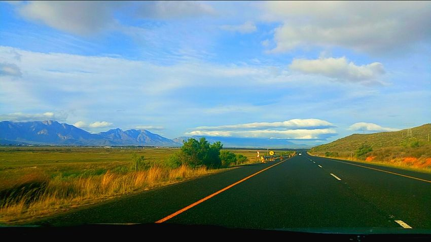 Showcase July Open Road Blue Sky Clear Sky Clear Clouds Adventure Nature Nature Photography Perfection