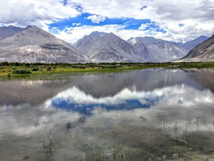 เส้นทางสู่ NubraValley @Leh ladakh india First Eyeem Photo