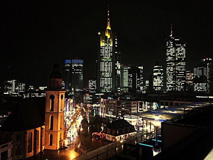 Frankfurt Enjoying The View Friends