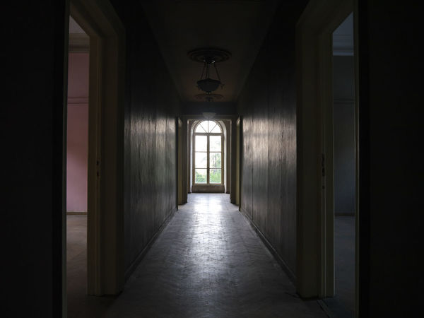 Architecture Day Emptiness Hallway Indoors  Interiors No People The Way Forward Window From Inside