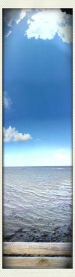 Panorama Coast Vertical Panorama