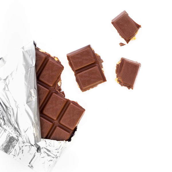Chocolate bar Barret Candy Chocolate Bar Chunks Cocoa Craked Healty Food Ingredient Milk Chocolate Open Piece Simplicity Stack Still Life Sweet♡ Tasty😋
