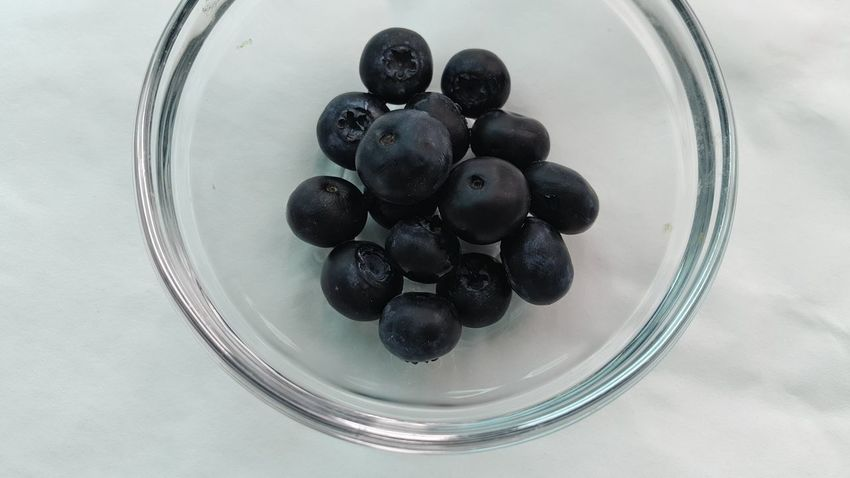 2017-0702·001©sunfo Blueberry Food And Drink Indoors  Healthy Eating Chia Seed Fruit Drinking Glass
