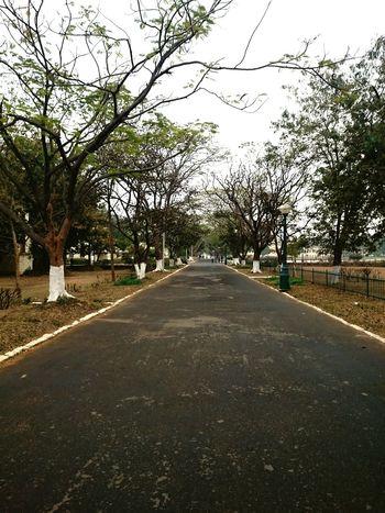My College - BIT, Mesra 1st Monsoon Rain Empty Roads