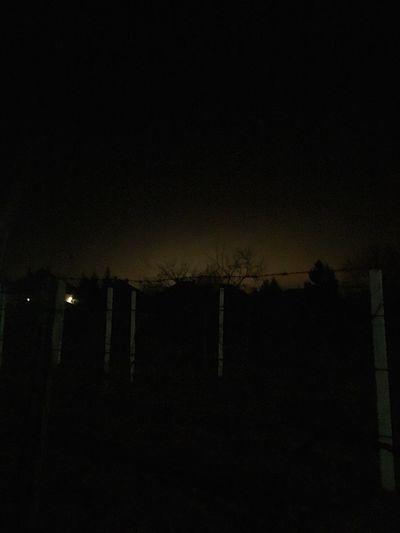 Citylights From  The Village Village City Lights Dark Light Night Nightphotography Amateurphotography IPhone SE Hungary Abda