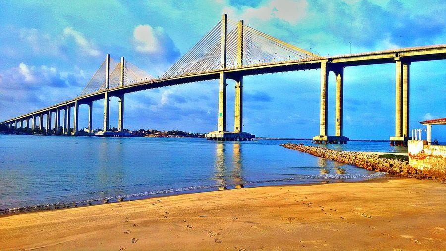 Colour Of Life Beach View Beach Brasil Bridge Ocean View
