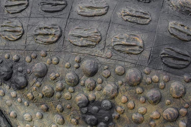 Detail shot of human sculpture