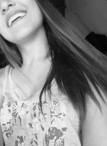 Felicidad... Happiness Happy Girl Smile Smiling Black Blackandwhite Venezuelan Girl Myself