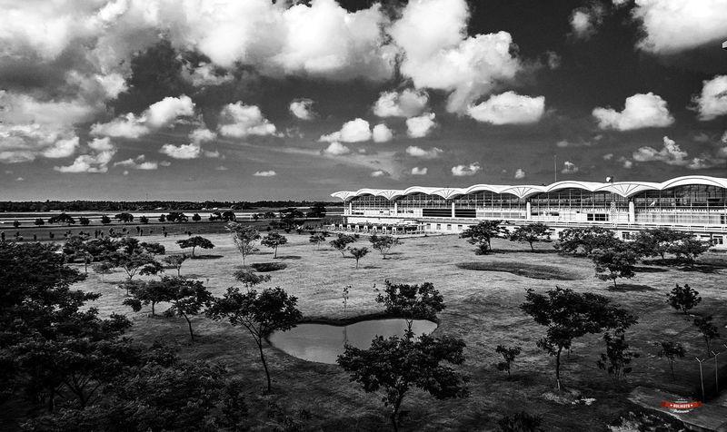 Airport Kualanamu Eyeemindonesia Blackandwhite