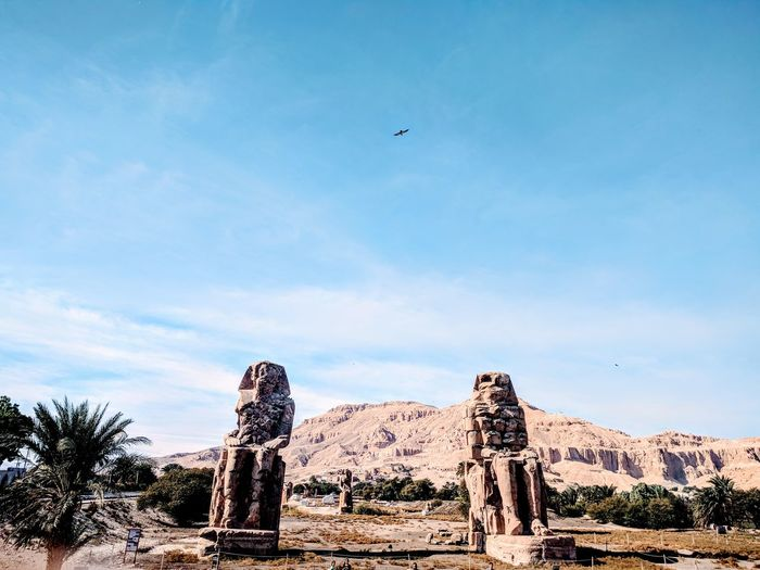 we are always looking for the beautiful things Egypt Luxar City Best EyeEm Shot Old Place Ancient History Best EyeEm Nature 2018 Life Winter Temple EyEmNewHere Eyem Best Shots Travel Destinations Sky Cloud - Sky No People Outdoors Day Nature