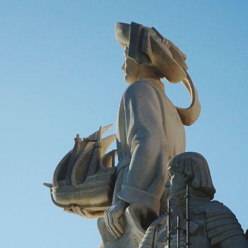 発見のモニュメント。エンリケ航海王子👑只今改修中。 Statue Sculpture History Ancient Civilization Historical Monuments