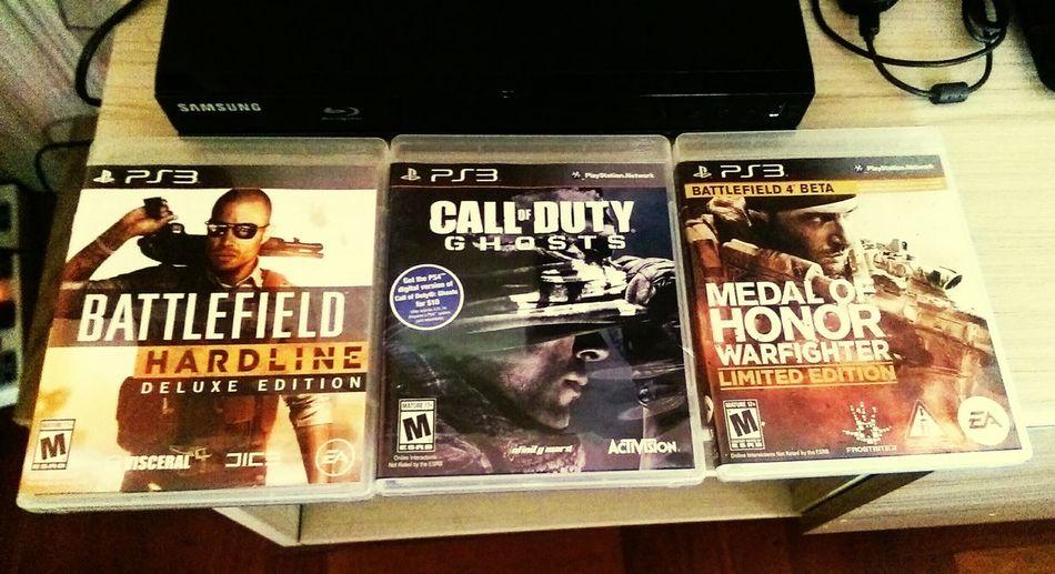 Y luego porque siempre termino en el vicio 😁😁 Battlefield Hardline Callofdutyghost Medalofhonor