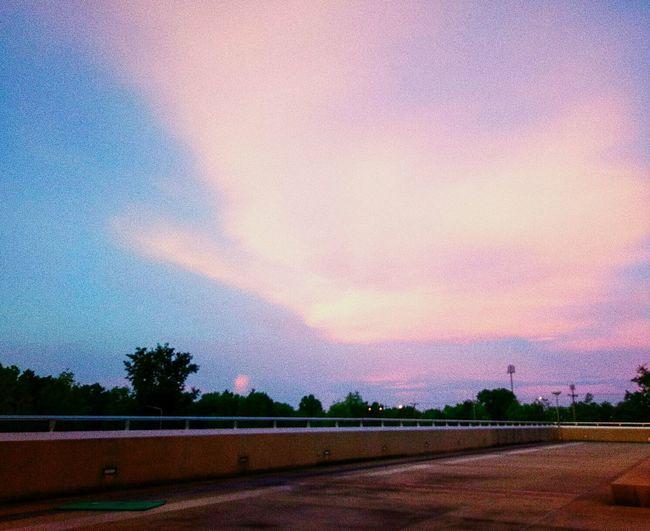 Sunset Sky Day UbonRatchathaniUniversity Thailand🇹🇭
