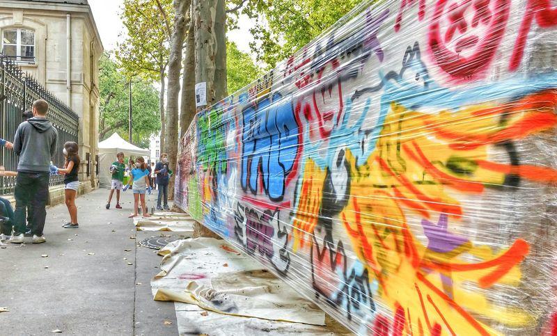 Street Art @Paris Le Marais Street Art/Graffiti Urban Art Le Marais Paris