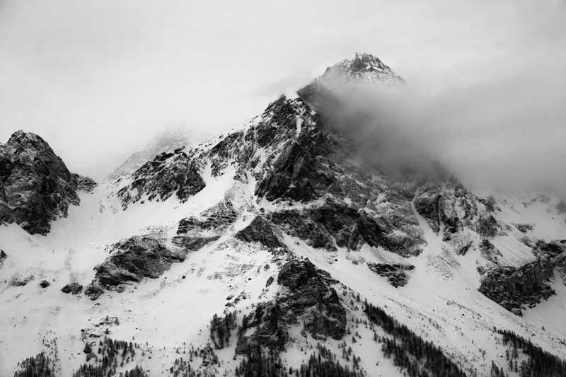 Aostavalley Beauty In Nature Cloud - Sky Fog In The Fog Landscape Landscape #Nature #photography Landscape_Collection Moutains Outdoors Winter