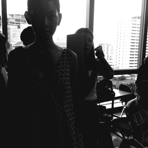 FVT 2015 Thesis Fashionshow Mydesign Backstage Model Mlife Mycollection