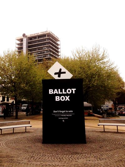 Bristol Voting Election United Kingdom England Walking Around Taking Photos Advertising May