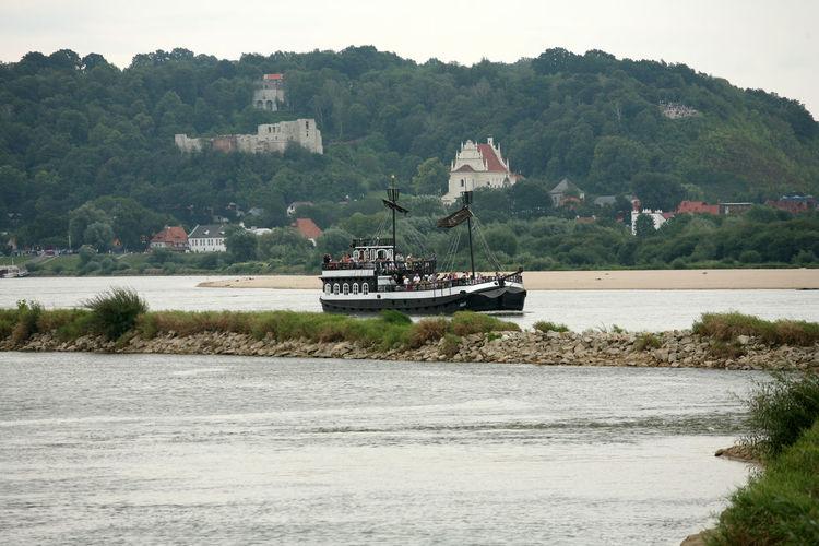 Kazimierz KAZIMIERZ DOLNY Kazimierz Dolny Nad Wisłą Mode Of Transport Nautical Vessel Poland Polen River Sailboat Tall Ship Water Wisla Wisła Wisła River