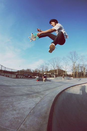 Skateboarding Thepark Shred Vince