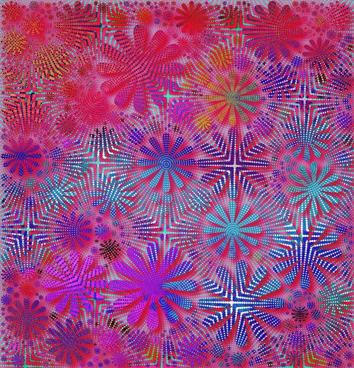 Deca. Kyoobik Tangentapp Geometric Shapes Abstractions In Colors