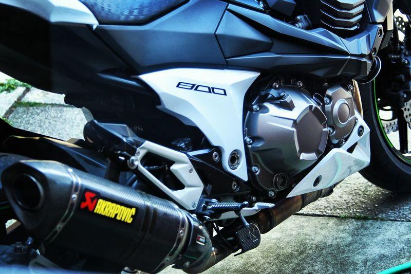 Kawasaki Z800 Motorcycle Nikon Nikon D7200