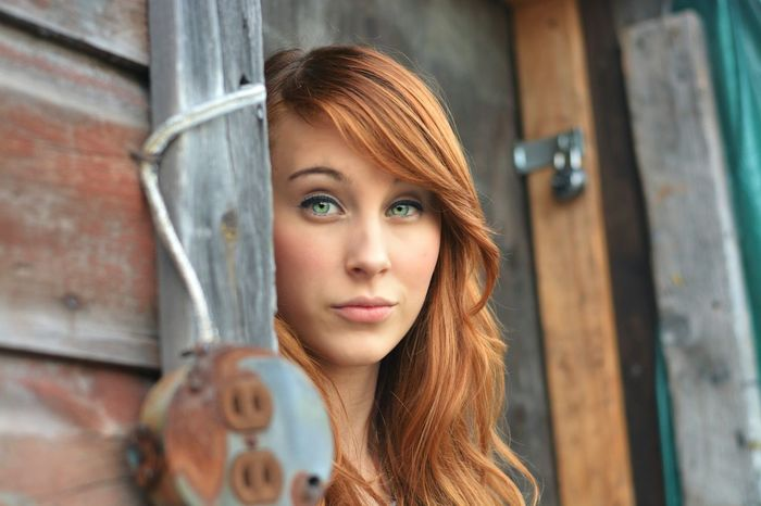 Portrait Model Redhead Beautiful Eyes Green Eyes Photoshoot People Photography