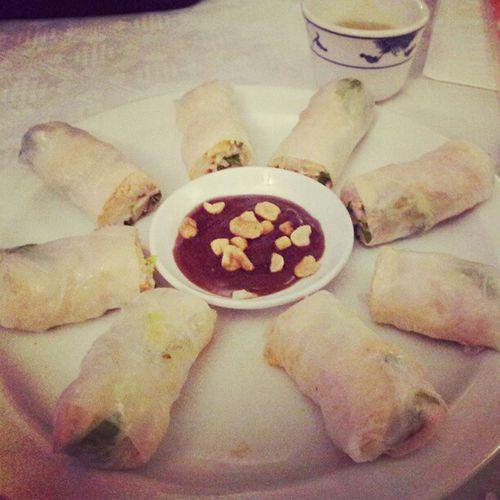 Summerrolls Vietnamese Restaurant HaNoiQuan MANCHESTER foodgasm gahcuon food foodporn