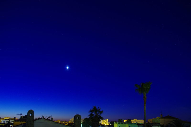The Planets At This Time Astronomy Atmosphere Atmospheric Mood Dark Illuminated Infinity Miami Platja -Tarragona Night No People Outdoors Relaxing Moments Space Star Star Field Waning Moon