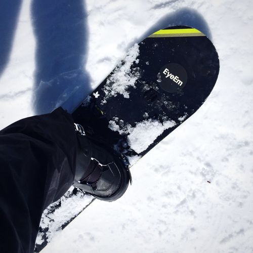 66/365: Having Fun With EyeEm Stickers! // Snowboarding 2015 In 365 Photos Project 365