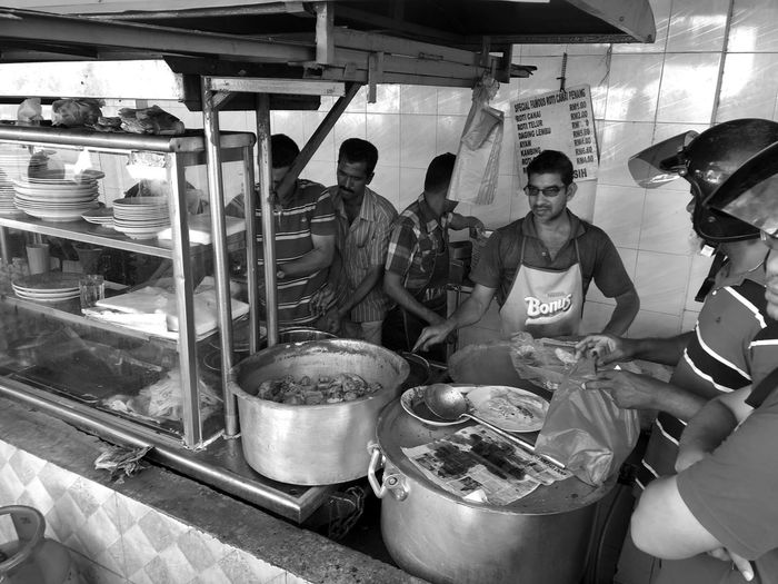 Street Food need no Michelin Streetfood Street Penang Curry Breakfast Hawker Centre Stalls At Sunday Market Chef